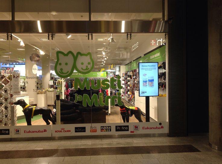 Musti ja Mirri, Helsinki, Finland. Last Meter Marketing by ZetaDisplay.