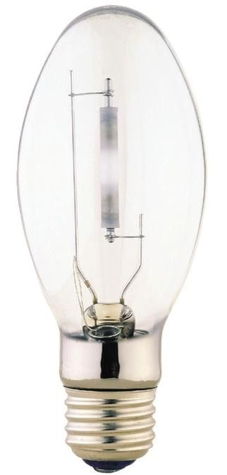 50 Watt ED17 HID High Pressure Sodium Light Bulb, 1900K Clear E26 (Medium) Base, Box