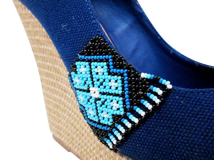 Steve Madden zapatos arte Huichol Nayarit