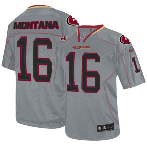 441d5d62aa7 wholesale find this pin and more on joe montana jersey authentic 49ers  womens youth kids mens