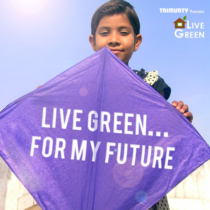 Kids have a message this Makar Sakranti, #LiveGreen for their future