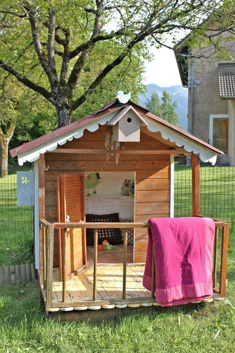 maisonnette envoi  Kid's play house