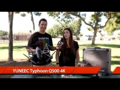 Yuneec Q500 4K Camera Drone Review - YouTube