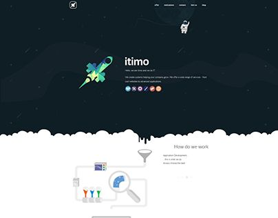 """Check out new work on my @Behance portfolio: """"itimo website"""" http://be.net/gallery/48001485/itimo-website"""