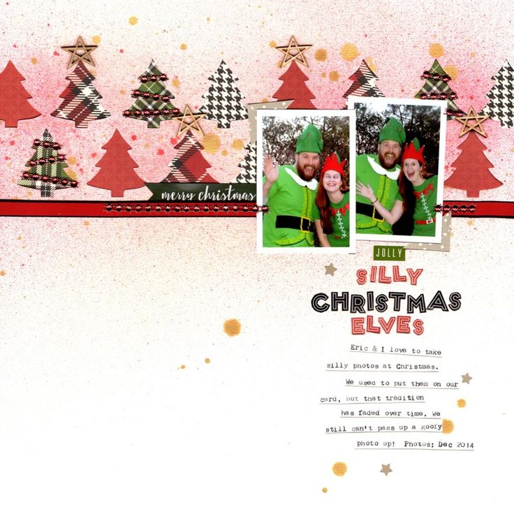 519 best Scrapbook Layouts - Christmas images on Pinterest ...