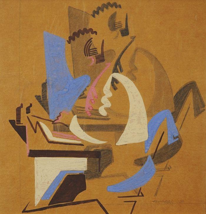 Frank Hinder, Man at Work, 1938