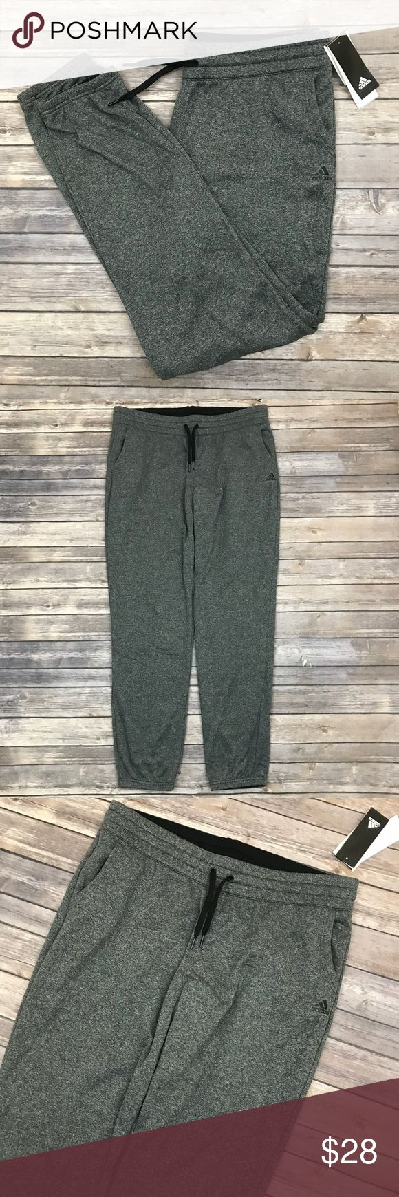 New Adidas Ultra Fleece Sweat Pants in Grey Adidas Ultra Fleece Jogger Sweat Pants in Grey Marl •New with tags •Size XL •Retails for $45  Check out my other listings- Nike, adidas, Michael Kors, Hunter Boots, Kate Spade, Miss Me, Rock Revival, Coach, Wildfox, Victoria's Secret, PINK, True Religion, Ugg Australia, Free People and more! adidas Pants Track Pants & Joggers