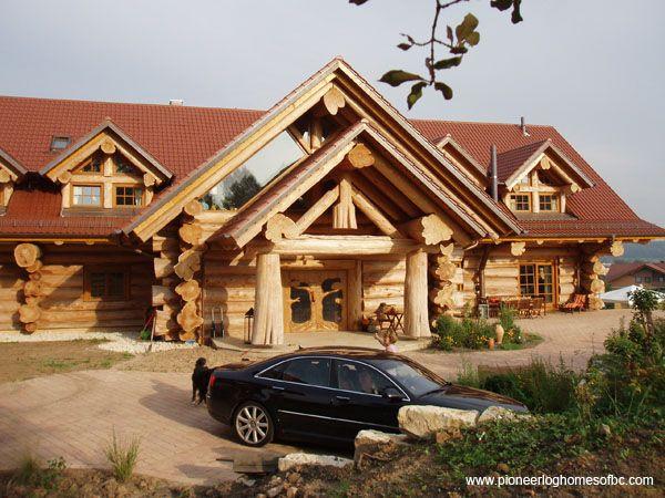 Extrem 157 best Timber Kings (Pioneer Log Homes) images on Pinterest  GZ14