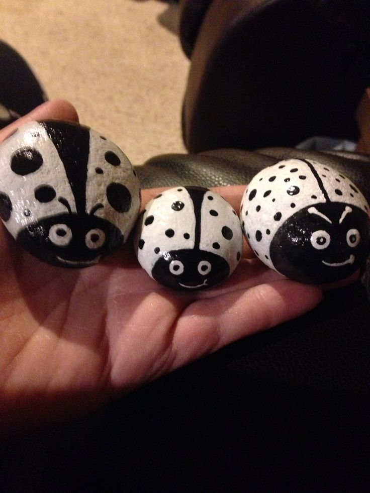 My black and white ladies mini bug $3 each (middle) small $5 each