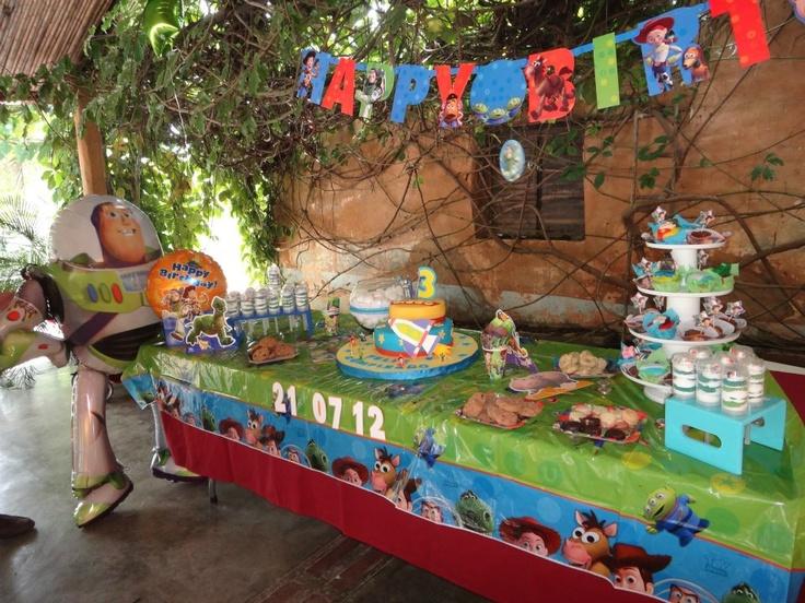 Decoracion Cumpleaños Toy Story | Cumpleaños | Pinterest | Toy ...