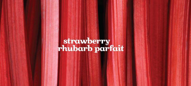 Strawberry Rhubarb Parfait by DavidsTea