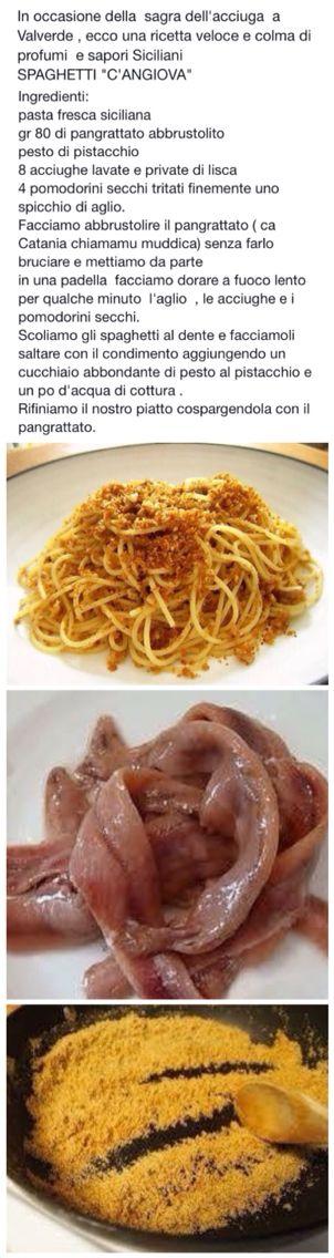 Spaghetti c'angiova