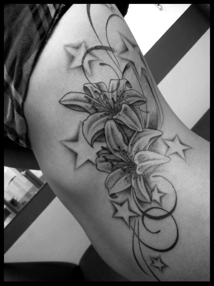 Fleurs De Frangipanier Tatouage