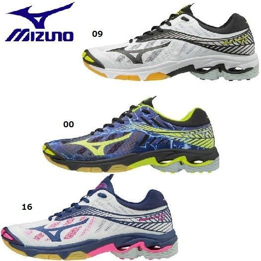 58ccf591b82d3 eBay  Sponsored New Mizuno Volleyball Wave Lightning Z4 V1GA1800  Freeshipping!!