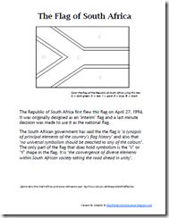 South Africa lesson plan and print outs