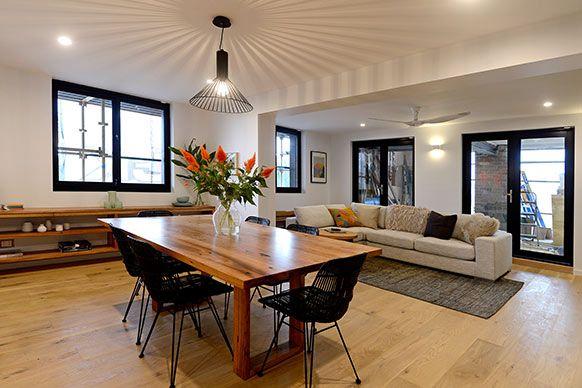 The Block Sky High: Room Reveal: Madi + Jarrod's living room