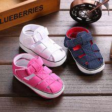 Goedkope baby jongens 2015/meisjes zomer op blote voeten sandalias zachte zolen peuters pre- wandelaar schoenen voor kinderen pasgeboren baby bebies 0-18m(China (Mainland))