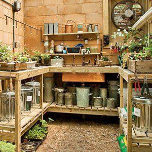 Garden Sheds Inside