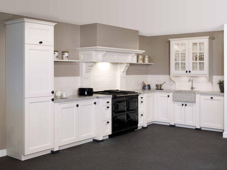 Tristar keuken type 39 keulen 39 in de kleur 39 oud wit 39 dit model is verkrijgbaar bij keukencentrum - Model keuken wit gelakt ...