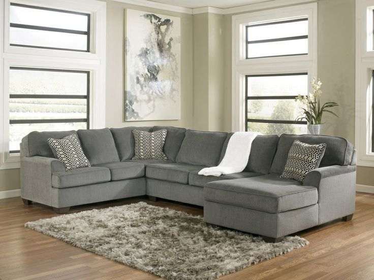 Loric - Smoke Living Room Sectional 3pc Set By Ashley Furniture::Furniture Stores in Sacramento, California, Elk Grove, CA, Rancho Cordova,C...