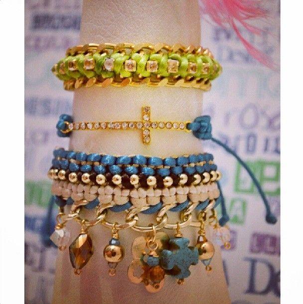hermosas y variadas pulseras también forman parte de nuestra colección Pandora