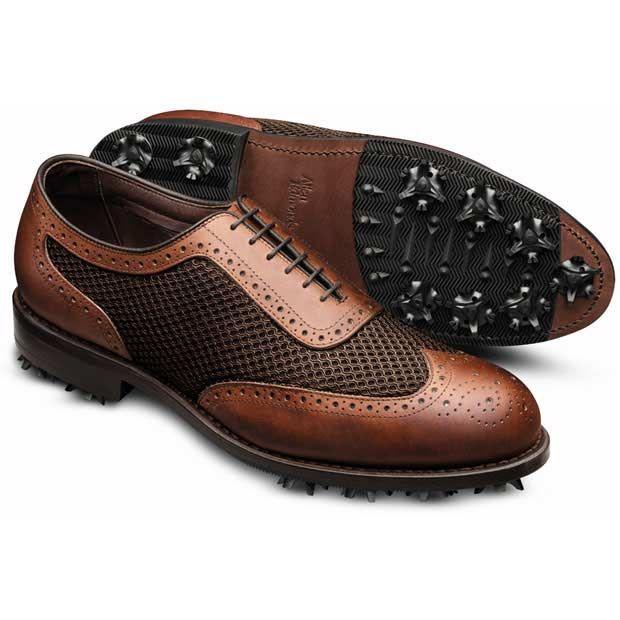 Allen Edmonds Double Eagle Golf Shoes. Look good on the course.