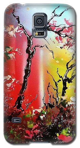 Inner Light Galaxy S5 Case Printed with Fine Art spray painting image Inner Light by Nandor Molnar (When you visit the Shop, change the orientation, background color and image size as you wish)