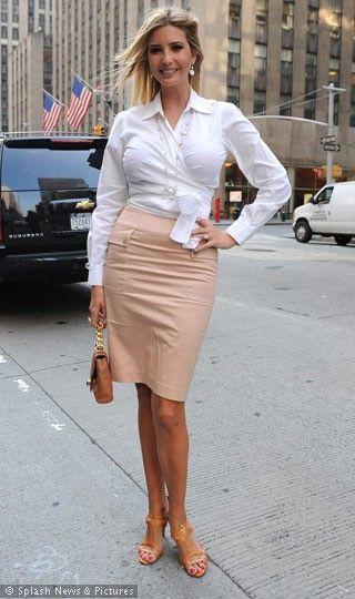 Ivanka Trump - pure elegance and style