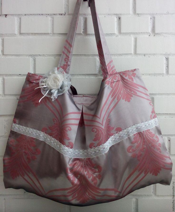 Купить Огромная авоська для спорта, пляжа или дачи - розовый, орнамент, авоська, сумка для покупок