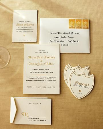 A suite inspired by Dom Perignon: Champagne Theme, Cheer Fonts, Wedding Ideas, Crests, Theme Wedding, Gold Invitations, Martha Stewart Wedding, Champagne Inspiration, Fancy Invitations