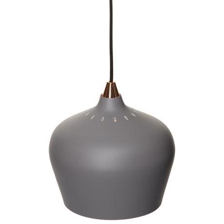 Zacharia Ceiling Pendant Large Grey