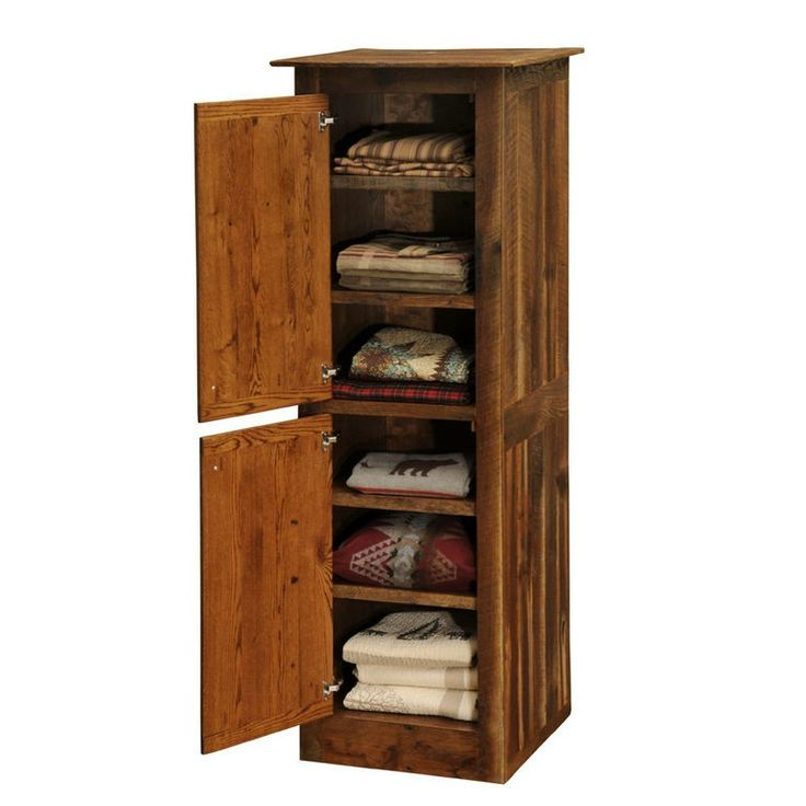 barnwood linen closest helps complete your bathroom style rustic