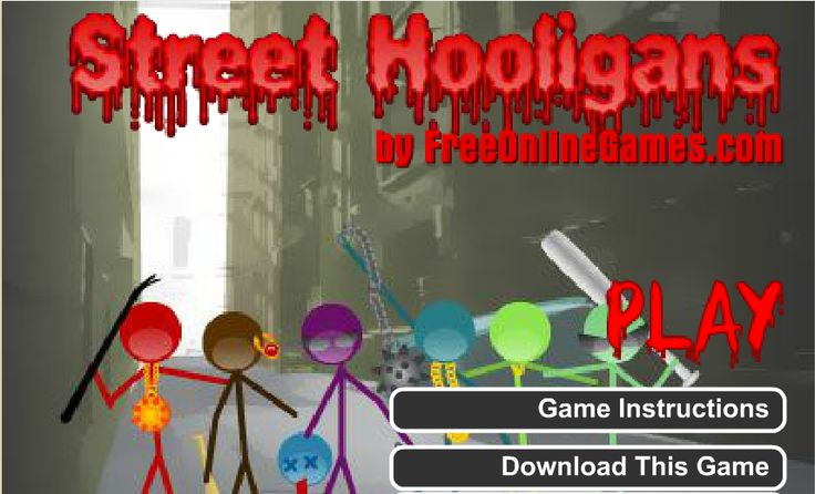 Love playing #actiongames ? Play #StreetHooligans