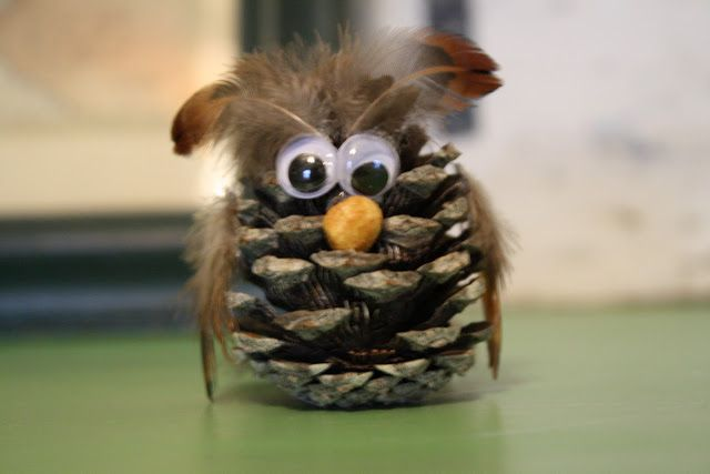 Free Pine Cone Crafts | Pine cone crafts? thought these were cute ~ | CafeMom Answers