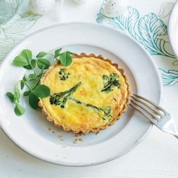 Try serving this tempting creamy tartlet recipe at a spring-time dinner party or Easter lunch, when purple sprouting broccoli is at its peak