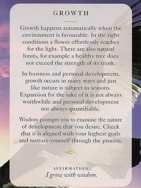 Todays Wisdom Card | Inspiration | Diana Cooper