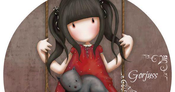 Ruby by Gorjuss @Suzanne Woolcott G orjuss, las muñecas sin rostro by Suzanne Wollcott...  Paseaba esta Semana Santa por un mercadil...
