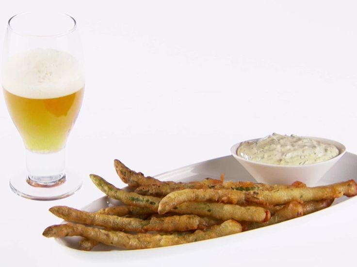 Beer-Battered Asparagus Recipe : Giada De Laurentiis : Food Network - FoodNetwork.com