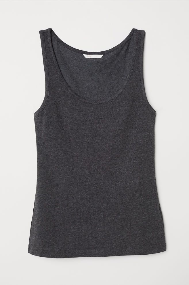 6d6fa822d412 Jersey Tank Top in 2019   styling   Tank tops, Tops, Tank top outfits