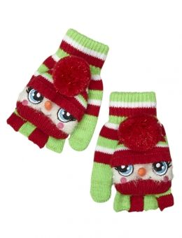 Flip-Top Snowman Gloves
