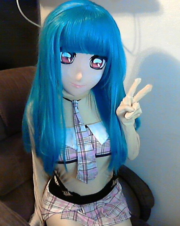 Kigurumi mask. This level of cosplay is for the ...