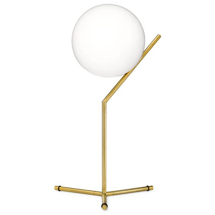 IC T1 High bordslampa, mässing i gruppen Belysning / Lampor / Bordslampor hos RUM21.se (131166)