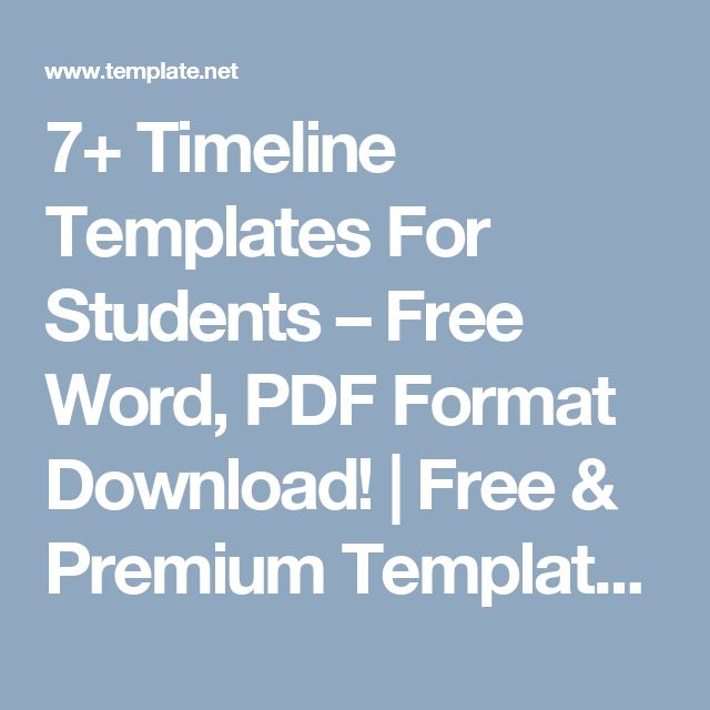 Πάνω από 25 κορυφαίες ιδέες για Timeline format στο Pinterest - timeline template word