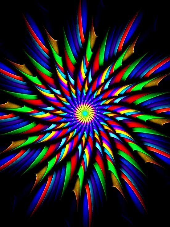 rainbow fractal cool - photo #20