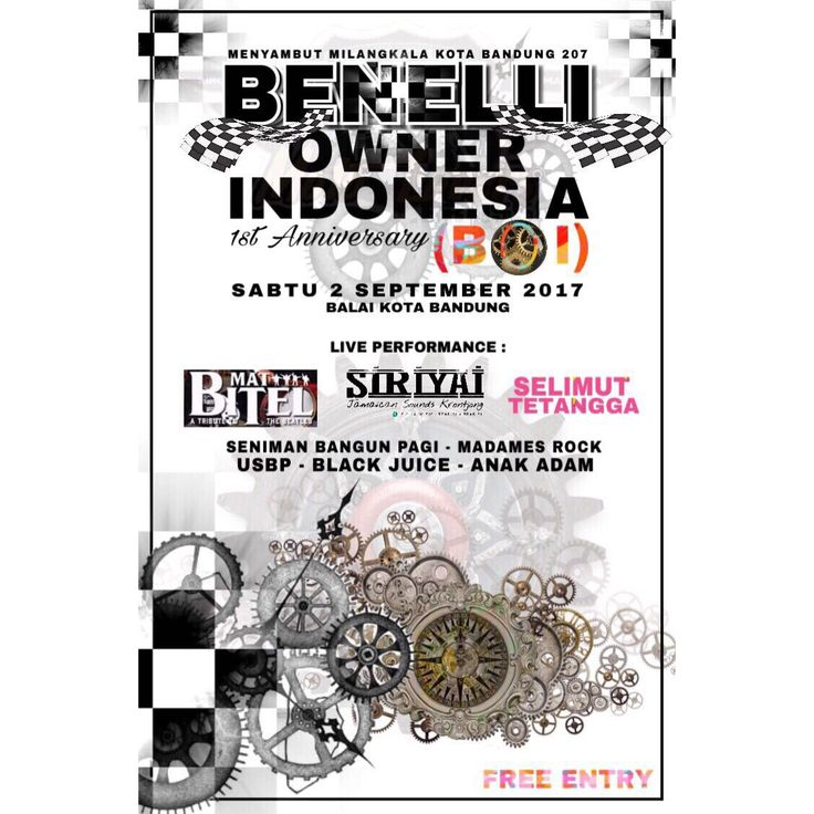 1st Anniversary Benelli Owner Indonesia