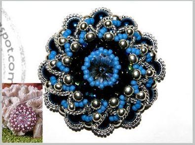 Jewelry-making manuals, tutorials collection at: Aletta pendant - Ewa (Aletta pattern pendant)