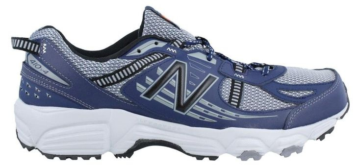 Men's New Balance, 410v4 Trail Running Shoes GREY BLUE 9.5 4E. New Balance Men's MT410SN4 Trail Shoe, Grey/Navy.