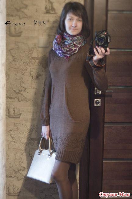 Still Light Tunic By Veera Valimaki, точнее платье с карманами) - Вязание - Страна Мам