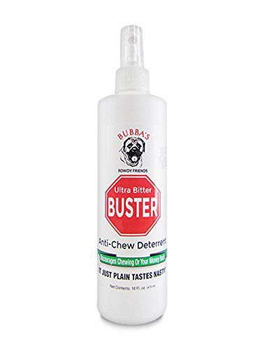 how to make bitter apple spray for dogs
