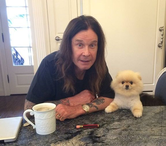 Ozzy Osbourne and Bella